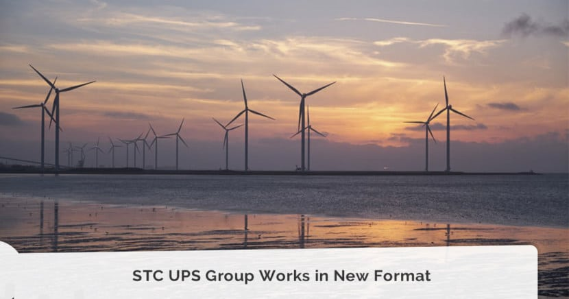 STC UPS Group Works in New Format