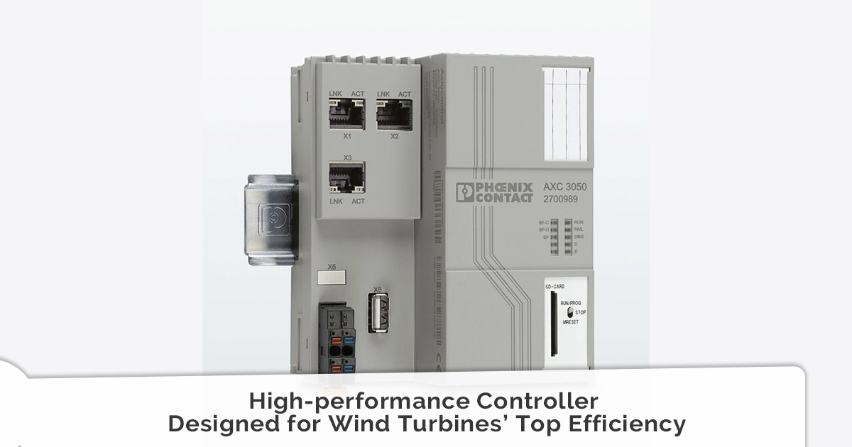High-performance Controller Designed for Wind Turbines' Top Efficiency