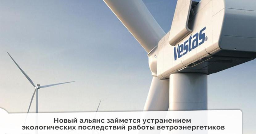 Новый альянс займется устранением экологических последствий работы ветроэнергетиков
